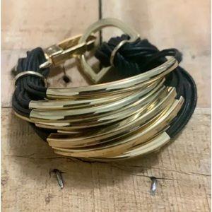 Women's Layered Bar Bracelet